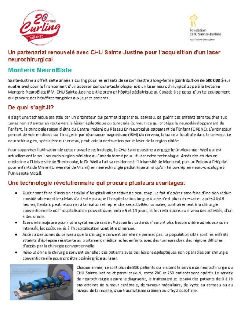 Proposition Équipement - 2019